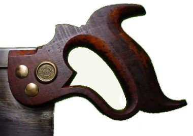 No. 4 backsaw handle
