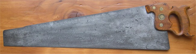early-1870's No. 7 Handsaw
