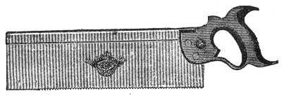 No. 77 1890 Backsaw Illustration