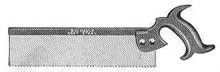 Davis Back Saw 1911 Catalog Illustration