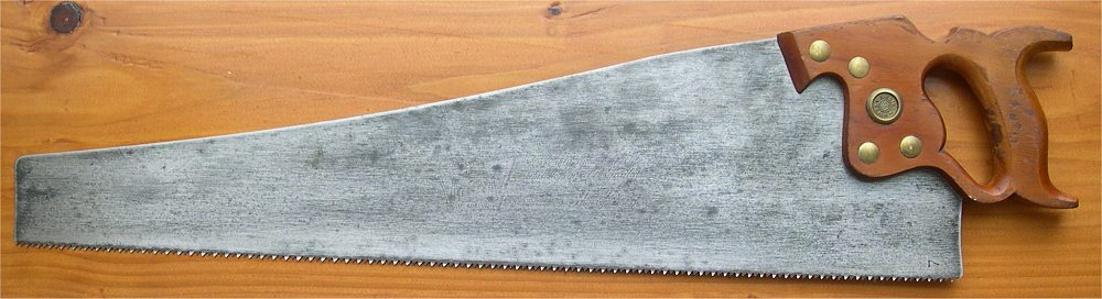 antique hand saw types. d-8 handsaw antique hand saw types