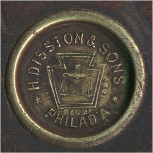 1887 patent date medallion